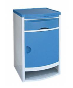 Plastic medical bed side cabinets1