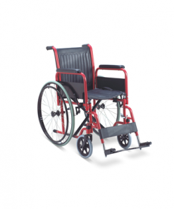 wheelchair steel PVC detachable arm and footrest