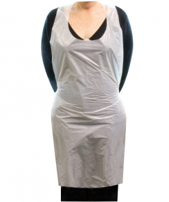 MOM - Aprons (100's) 10gms (protective clothing, disposable, std(99-110)