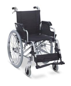 Wheelchair Allum/Nylon Lightweight Detachable Arm & Foot Rest