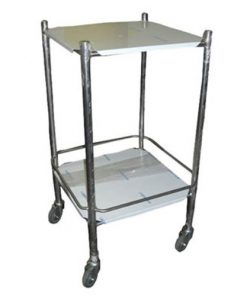 Instrument Trolley 457 x 457mm Completely S/Steel