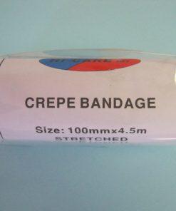 Bandage Crepe - 50mm Hi-Care 4.5m stretched