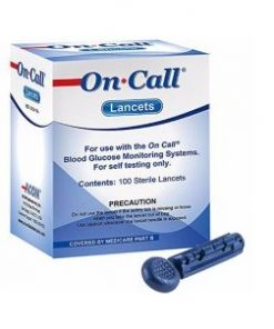 on call plus lancets
